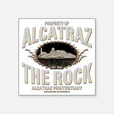 """PROP_OF_ALCATRAZ Square Sticker 3"""" x 3"""""""