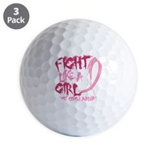 - Breast Cancer Fight Like a Girl Golf Ball