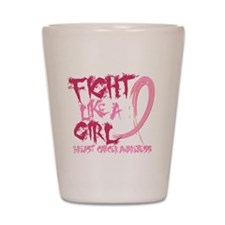 - Breast Cancer Fight Like a Girl Shot Glass