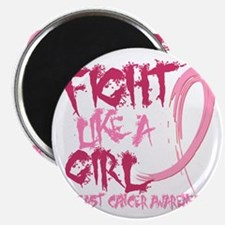 - Breast Cancer Fight Like a Girl Magnet