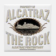 PROP_OF_ALCATRAZ Tile Coaster