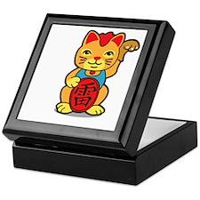 luckycat2 Keepsake Box