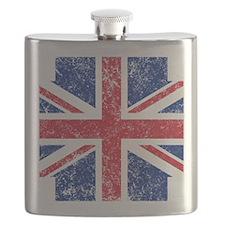 Brit Flag Btn1 Flask