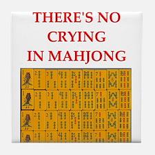 mahjong gfts Tile Coaster