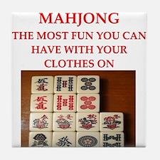 MAHJONG joke Tile Coaster