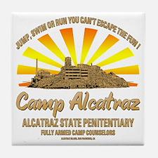 CAMP_ALCATRAZ Tile Coaster
