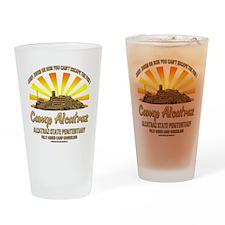 CAMP_ALCATRAZ Drinking Glass