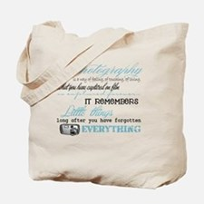 Photography Tote Bag