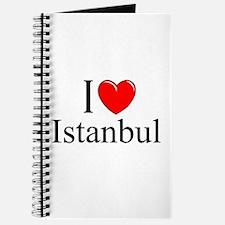 """I Love Istanbul"" Journal"