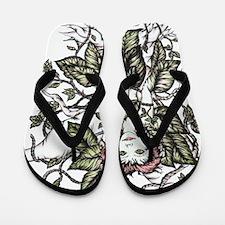 Poison~Ivy Copyrite 2010 Flip Flops