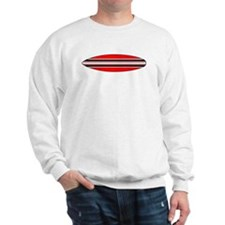 surfercrossing_white_cafepress Sweater
