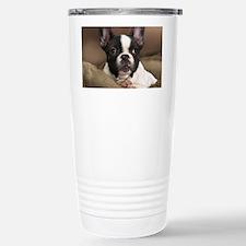 F pup panel print Travel Mug