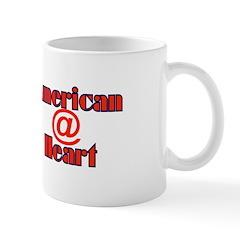 American @ Heart Mug
