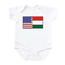 USA/Hungary Onesie