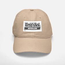 """World's Best Husband"" Baseball Baseball Cap"