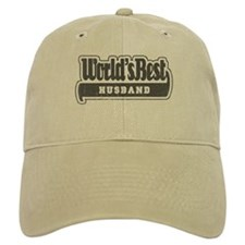 """World's Best Husband"" Baseball Cap"