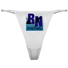 RN Really Naughty background Classic Thong