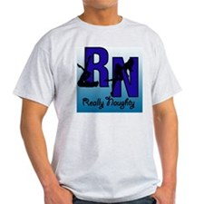 RN Really Naughty background T-Shirt