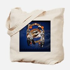 DreamcatcherHawkFace Tote Bag