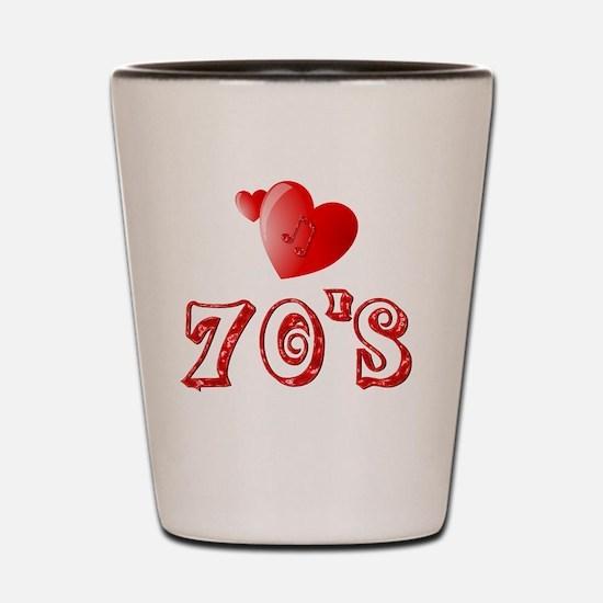 70s Shot Glass