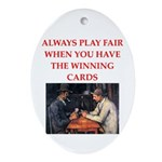 card game Ornament (Oval)