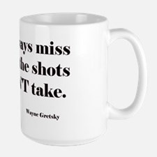 hockey quote Large Mug