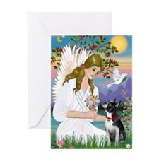 Angel Love (Journal) - Boston Terrie Greeting Card
