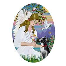 Angel Love (Journal) - Boston Terrie Oval Ornament
