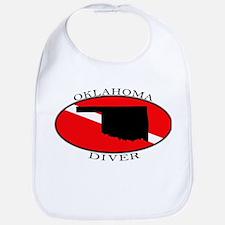 Oklahoma Dive Flag Bib