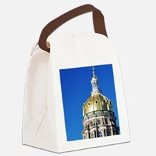 Iowa Capitol Dome Canvas Lunch Bag