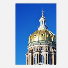 Iowa Capitol Dome Postcards (Package of 8)
