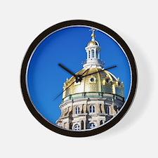 Iowa Capitol Dome Wall Clock