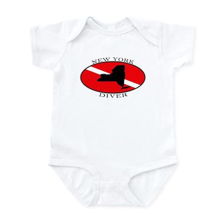 New York Dive Flag Infant Bodysuit