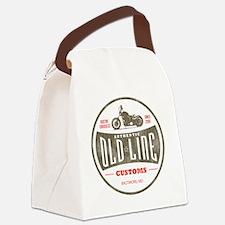 VintageOldLine Canvas Lunch Bag