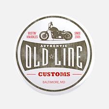 """VintageOldLine 3.5"""" Button"""