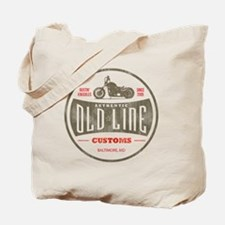 VintageOldLine Tote Bag