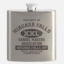 NIAGARA FALLS BARREL Flask