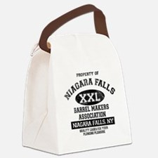 NIAGARA FALLS BARREL Canvas Lunch Bag