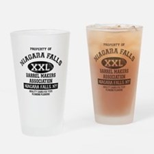 NIAGARA FALLS BARREL Drinking Glass