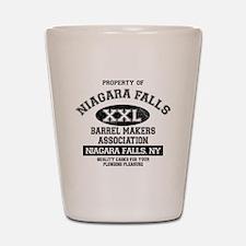 NIAGARA FALLS BARREL Shot Glass