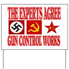 GUN CONTROL WORKS Yard Sign