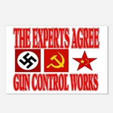 GUN CONTROL WORKS Postcards (Package of 8)
