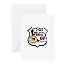 Cops Helping Cops Greeting Cards (Pk of 10)