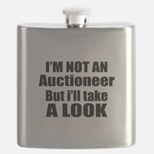 I Am Not Auctioneer But I Will Take A Look Flask