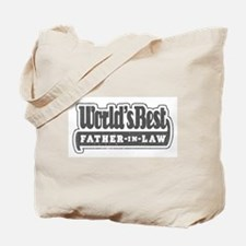 """""""World's Best Father-in-Law"""" Tote Bag"""