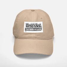 """World's Best Father-in-Law"" Baseball Baseball Cap"