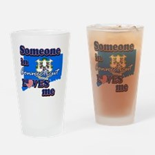 connecticutr Drinking Glass