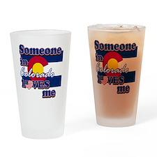 colorado Drinking Glass
