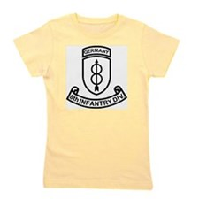 Army-8th-Infantry-Div-Germany-Scroll-Bl Girl's Tee