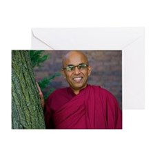 Bhante Greeting Card